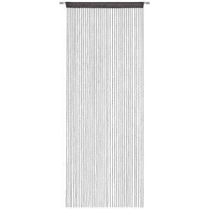 Esposa PROVÁZKOVÁ ZÁCLONA, černá, 90/245 cm - černá