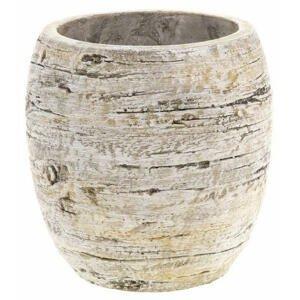 KVĚTINÁČ NA KVĚTINY, keramika, 16/16/16 cm - hnědá, pískové barvy