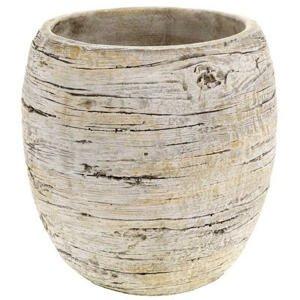KVĚTINÁČ NA KVĚTINY, keramika, 20/20/20 cm - hnědá, pískové barvy