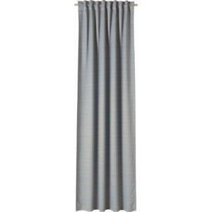 Joop! ÚZKÝ ZÁVĚS, neprůsvitné, 130/250 cm - světle šedá