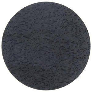 Seltmann Weiden MĚLKÝ TALÍŘ, keramika, 28 cm - černá