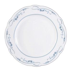 Seltmann Weiden TALÍŘ NA SNÍDANI, porcelán - modrá, bílá