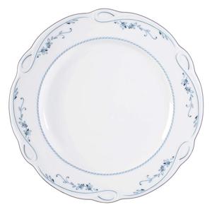 Seltmann Weiden TALÍŘ JÍDELNÍ, keramika, - modrá, bílá
