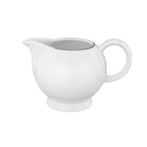 Seltmann Weiden KONVIČKA NA MLÉKO, porcelán - černá, bílá