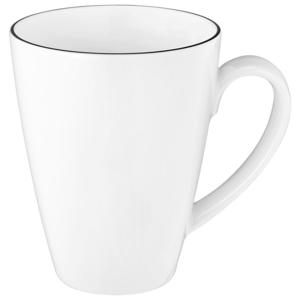 Seltmann Weiden HRNEK NA KÁVU, porcelán - černá, bílá