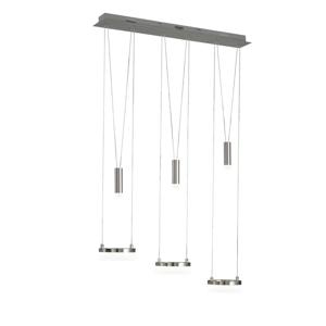 Ambiente ZÁVĚSNÉ LED SVÍTIDLO, 78/15/150 cm - barvy chromu, barvy niklu
