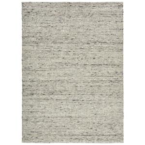Linea Natura KOBEREC RUČNĚ TKANÝ, 130/190 cm, šedá, černá - šedá, černá