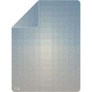 Novel PŘÍJEMNÁ DEKA, bavlna, 150/200 cm - modrá, šedá