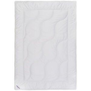 Sleeptex DEKA, 140/220 cm, polyester, rouno, duté vlákno - bílá