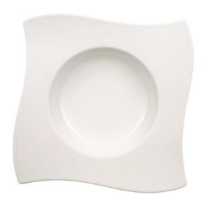 Villeroy & Boch HLUBOKÝ TALÍŘ, keramika, 24/24 cm - bílá