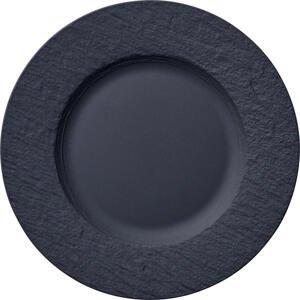 Villeroy & Boch MĚLKÝ TALÍŘ, keramika, 27 cm - černá