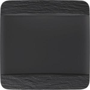 Villeroy & Boch TALÍŘ JÍDELNÍ, keramika, 28/28 cm - černá