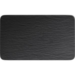 Villeroy & Boch TALÍŘ, keramika, 17/28 cm - černá