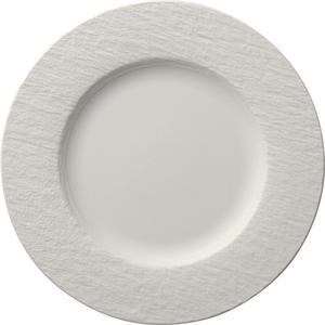 Villeroy & Boch MĚLKÝ TALÍŘ, keramika, 27 cm - bílá