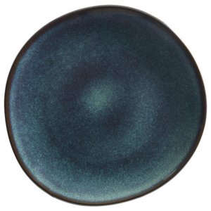 Villeroy & Boch TALÍŘ NA SNÍDANI, keramika, 23 cm - tmavě šedá