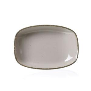 Ritzenhoff Breker TALÍŘ NA POLÉVKU, porcelán - hnědá, šedá