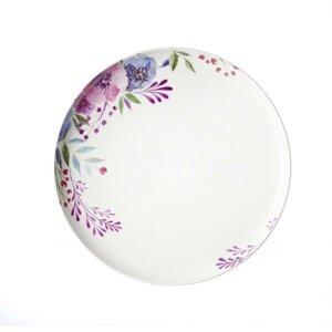 Ritzenhoff Breker TALÍŘ, keramika, 26 cm - modrá, zelená, růžová, bílá