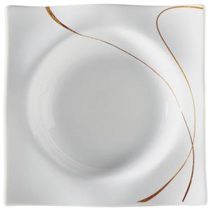 Ritzenhoff Breker TALÍŘ NA POLÉVKU, porcelán - hnědá, bílá
