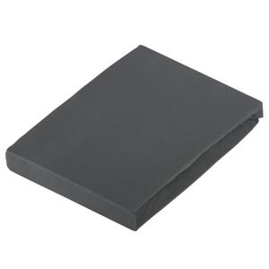 Novel PROSTĚRADLO NA BOXSPRING, žerzej, šedá, 90-100/190-220 cm - šedá