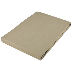 Novel PROSTĚRADLO NA BOXSPRING, žerzej, béžová, 140-160/200-220 cm - béžová