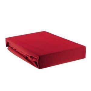 PROSTĚRADLO NAPÍNACÍ, červená, 140/200 cm - červená