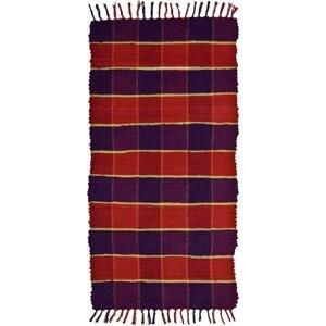 PŘEDLOŽKA, 60/120 cm, červená, fialová - červená, fialová
