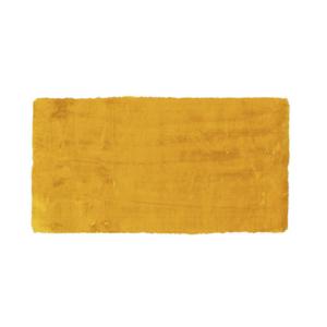 KOBEREC S VYSOKÝM VLASEM, 120/170 cm, žlutá