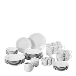 Homeware KOMBINOVANÁ SOUPRAVA, 50dílné, porcelán - bílá