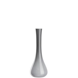 Leonardo VÁZA, sklo, 40 cm - šedá