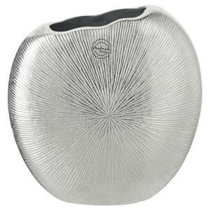 Ambia Home VÁZA, kov, 22 cm - barvy stříbra