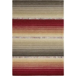 Esposa ORIENTÁLNÍ KOBEREC, 200/300 cm, šedá, červená - šedá, červená