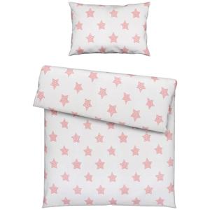 My Baby Lou POVLEČENÍ PRO MIMINKA, 100/135 cm, růžová, bílá - růžová, bílá