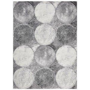 Novel VINTAGE KOBEREC, 120/180 cm, šedá, černá, bílá - šedá, černá, bílá