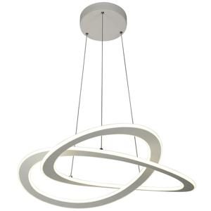Ambiente ZÁVĚSNÉ LED SVÍTIDLO, 75/150 cm - šedá
