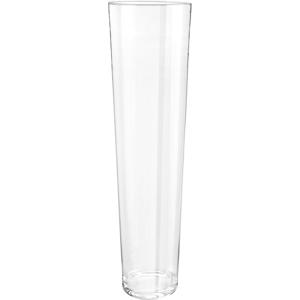 Ambia Home VÁZA, sklo, 70 cm - čiré