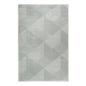 Esprit TKANÝ KOBEREC, 160/225 cm, šedá, tyrkysová - šedá, tyrkysová
