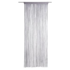 Boxxx PROVÁZKOVÝ ZÁVĚS, 90/245 cm, barvy stříbra - barvy stříbra