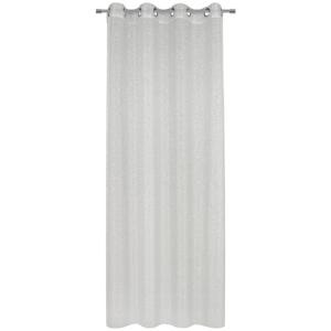 Esposa ZÁVĚS HOTOVÝ, průhledné, 135/245 cm - barvy stříbra