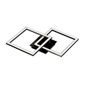 Boxxx STROPNÍ LED SVÍTIDLO, 56,7/35/5,5 cm - černá, bílá
