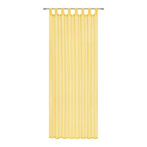 Boxxx ZÁVĚS HOTOVÝ, průhledné, 140/245 cm - žlutá
