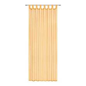 Boxxx ZÁVĚS HOTOVÝ, průhledné, 140/245 cm - oranžová