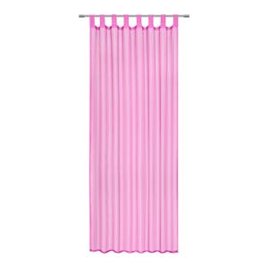 Boxxx ZÁVĚS HOTOVÝ, průhledné, 140/245 cm - pink