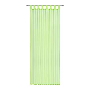 Boxxx ZÁVĚS HOTOVÝ, průhledné, 140/245 cm - zelená