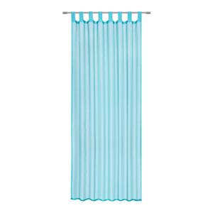 Boxxx ZÁVĚS HOTOVÝ, průhledné, 140/245 cm - modrá
