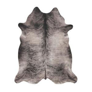Esposa UMĚLÁ KOŽEŠINA, 125/155 cm, šedá, černá - šedá, černá