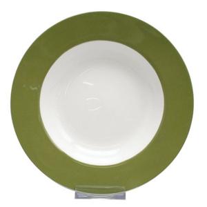 Landscape TALÍŘ NA POLÉVKU, jemný kostní porcelán (fine bone china) - vícebarevná