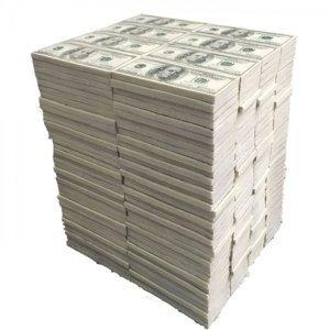 Bílá stolička Dollar