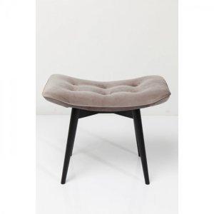 Šedá čalouněná stolička Vicky Velvet