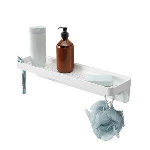 Polička do koupelny Umbra FLEX SURE-LOCK - bílá