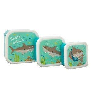 Boxy na oběd 3 ks Sass & Belle Shelby The Shark